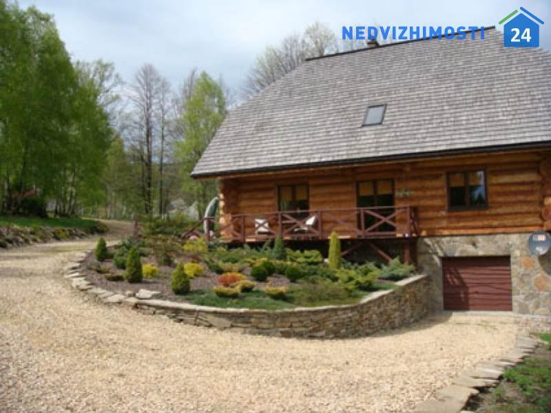 Уникальный деревянный дом в горах Кшешове, Бескиды