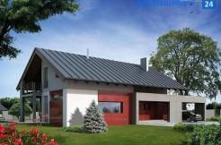 Энергосберегающий дом под Гданьском, 250 м2, Жуково