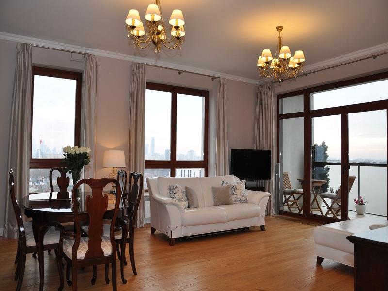 Квартира премиум класса в стиле Modern classic, Варшава
