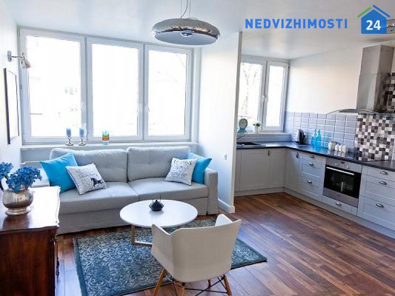 Двухкомнатная квартира 40 м2, Варшава