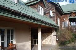Дом из бревен и кирпича под Варшавой, 320 м2, Пясечно