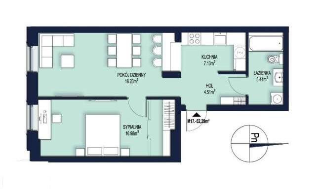 kvartira-53-m2-na-ul-czysta-v-tsentre-krakova 7