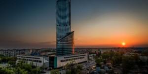Апартаменты в небоскребе SKY TOWER Вроцлав