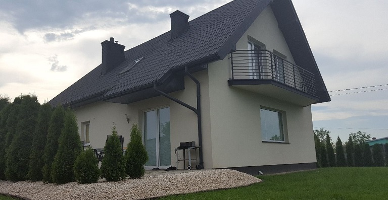 Двухэтажный дом в Горлицах 120 м2