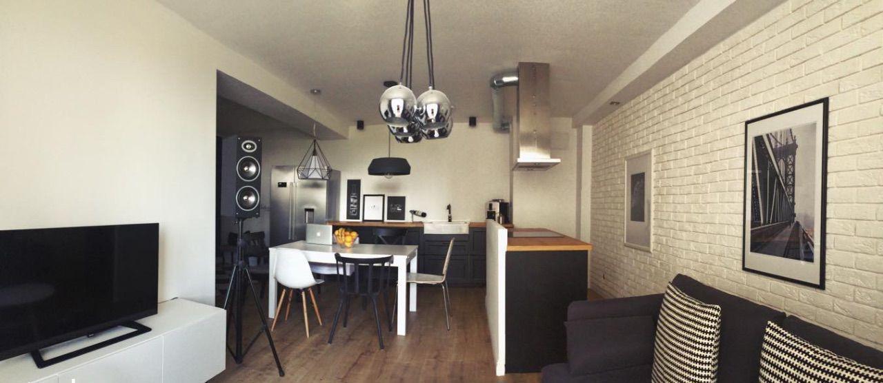 Современная квартира в Познани 58 м2