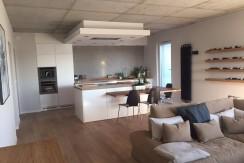 Современная квартира в Варшаве 115 м2