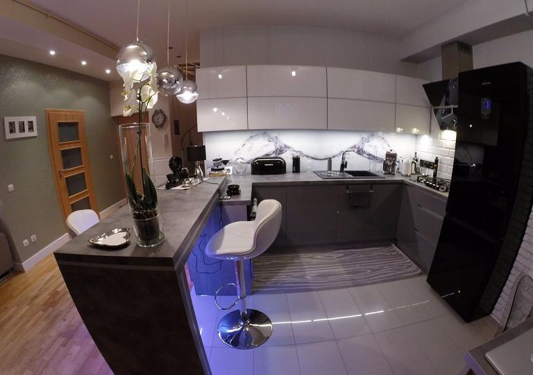 Красивая квартира-лофт в Бялогарде 73,50 м2