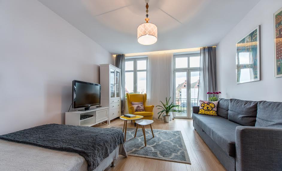 Красивые апартаменты в Гданьске 76 м2