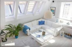 Солнечная двухуровневая квартира в Гданьске 100 м2