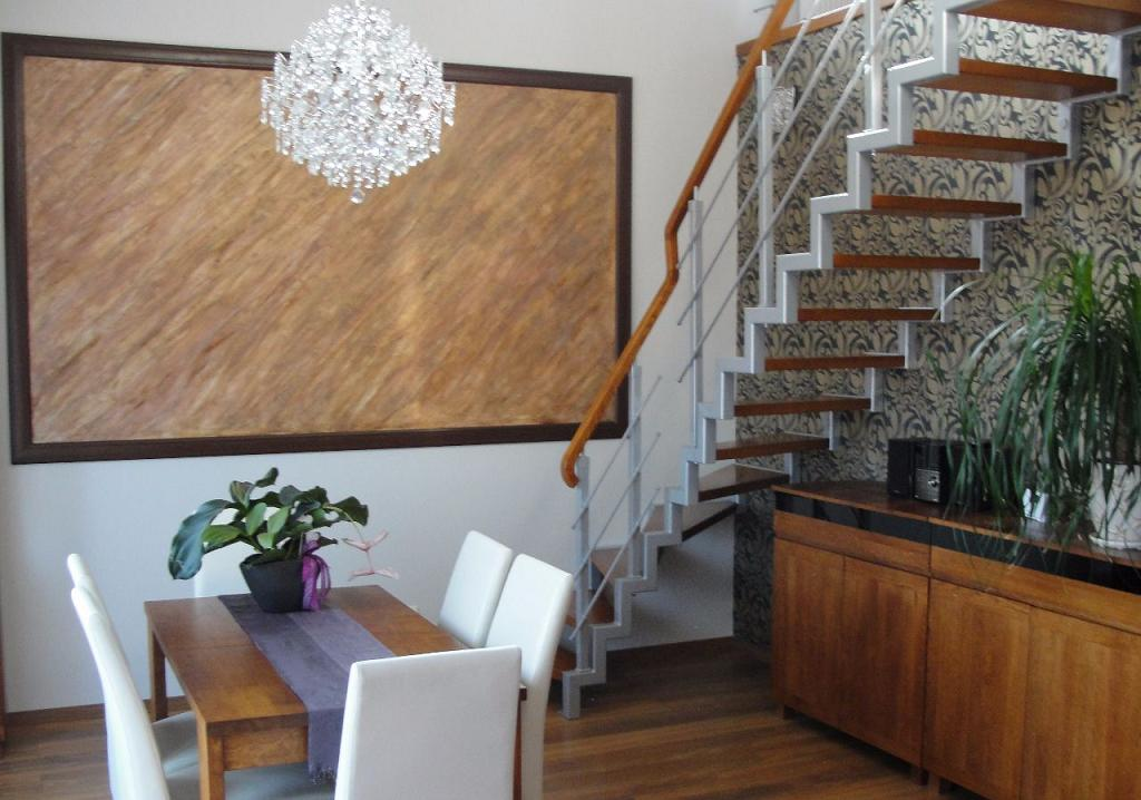 Современная двухуровневая квартира недалеко от Познани 106,40 м2