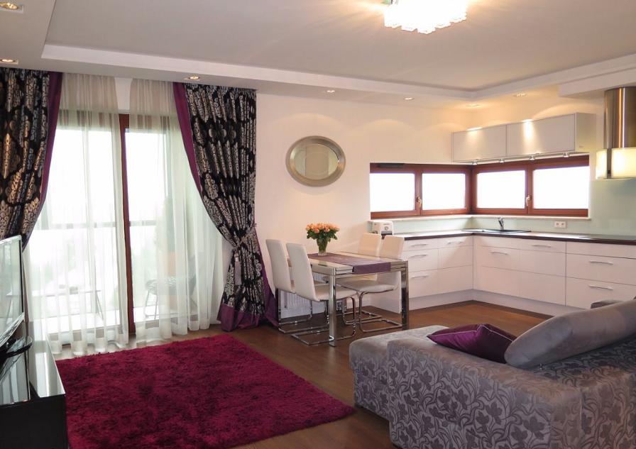 Шикарная квартира в Варшаве 62 м2