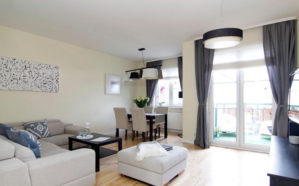 Красивая двухуровневая квартира в Варшаве 118,30 м2