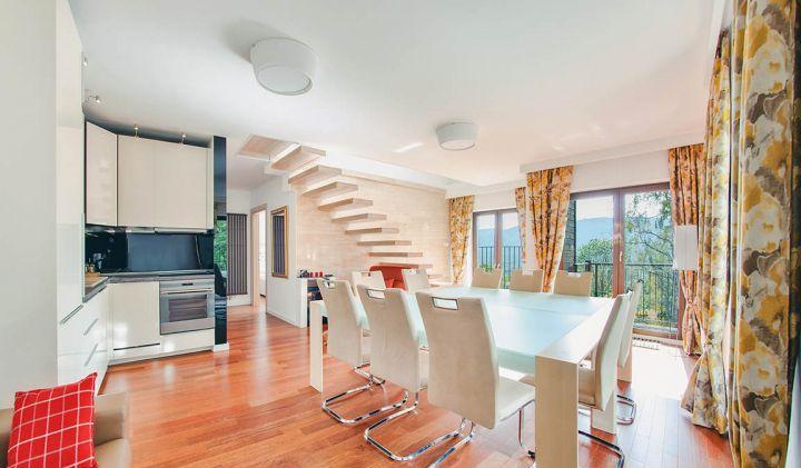 Роскошная двухуровневая квартира недалеко от Еленей-Гуры 112 м2