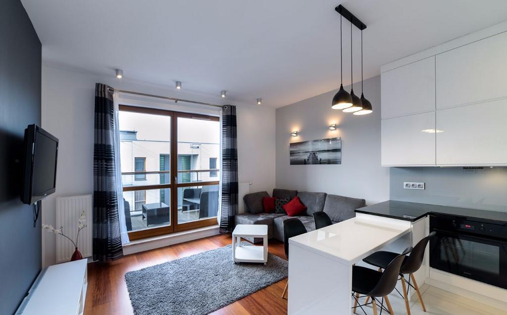Современная квартира в Гданьске 45 м2