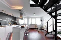 Просторная двухуровневая квартира во Вроцлаве 107,80 м2