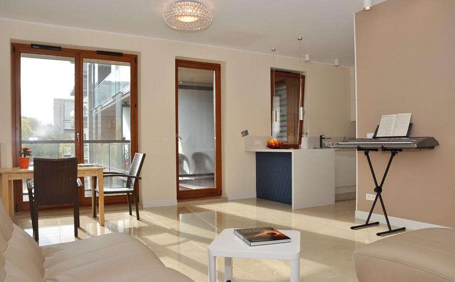 Просторная квартира в Варшаве 112 м2