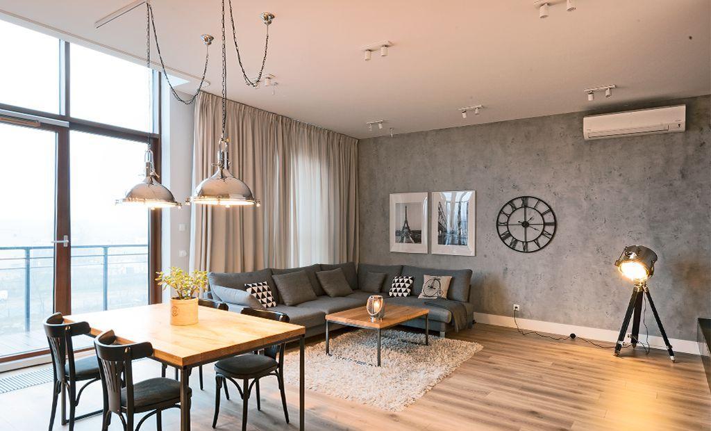 Красивая квартира в Варшаве 121 м2