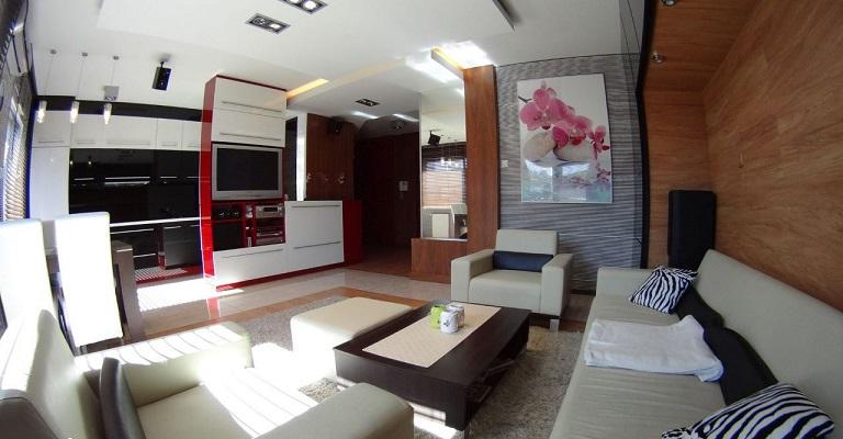 Красивая квартира в Люблине 72 м2