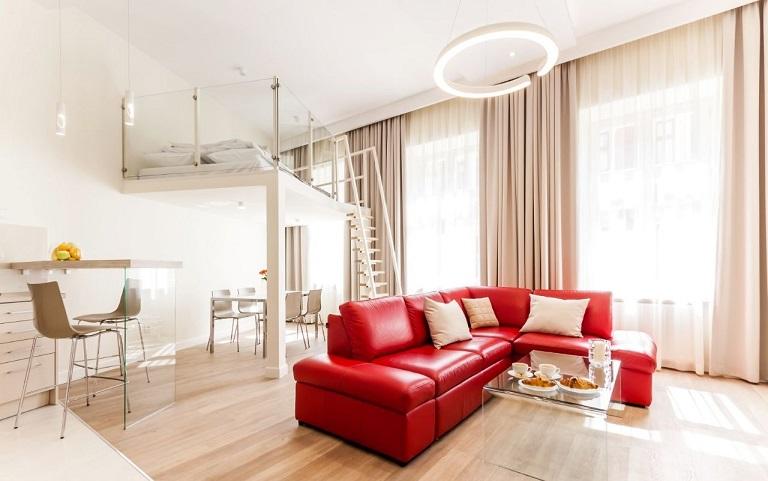 Квартира в Кракове 74 м2
