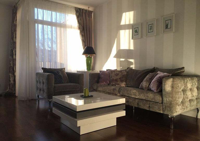 2-х уровневая квартира недалеко от Ольштына 82 м2