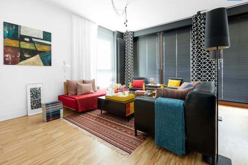 Эксклюзивные апартаменты с панорамным видом видом в Варшаве 76 м2