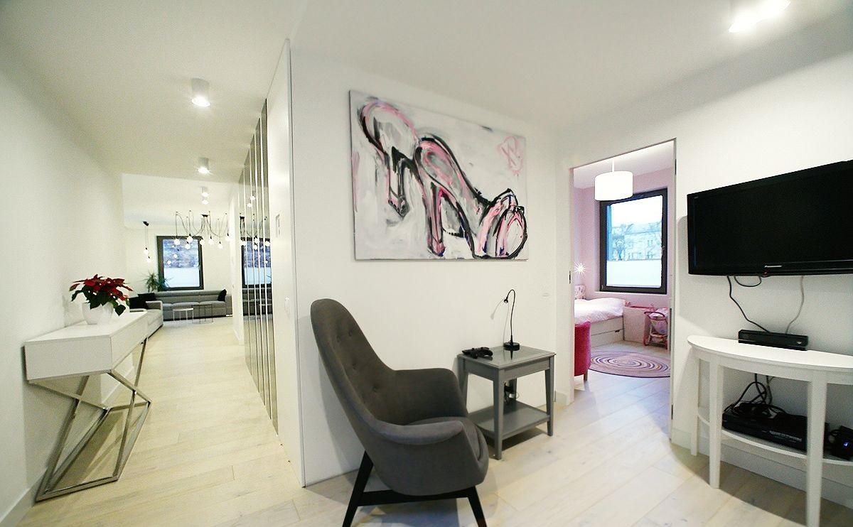 Стильный апартамент в Кракове 108 м2