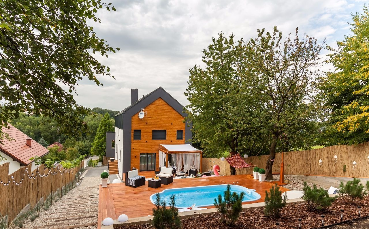 Шикарный дом в Кракове 363 м2