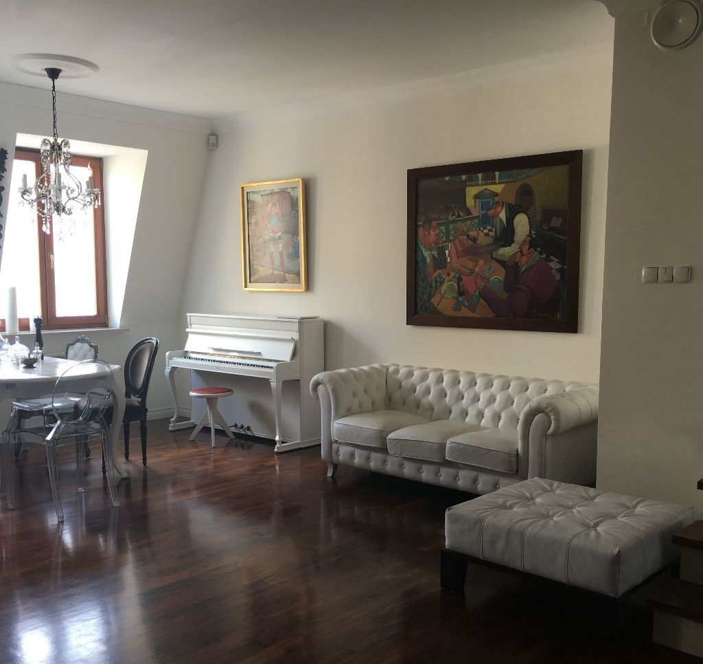 2-х уровневая квартира в Варшаве 142 м2