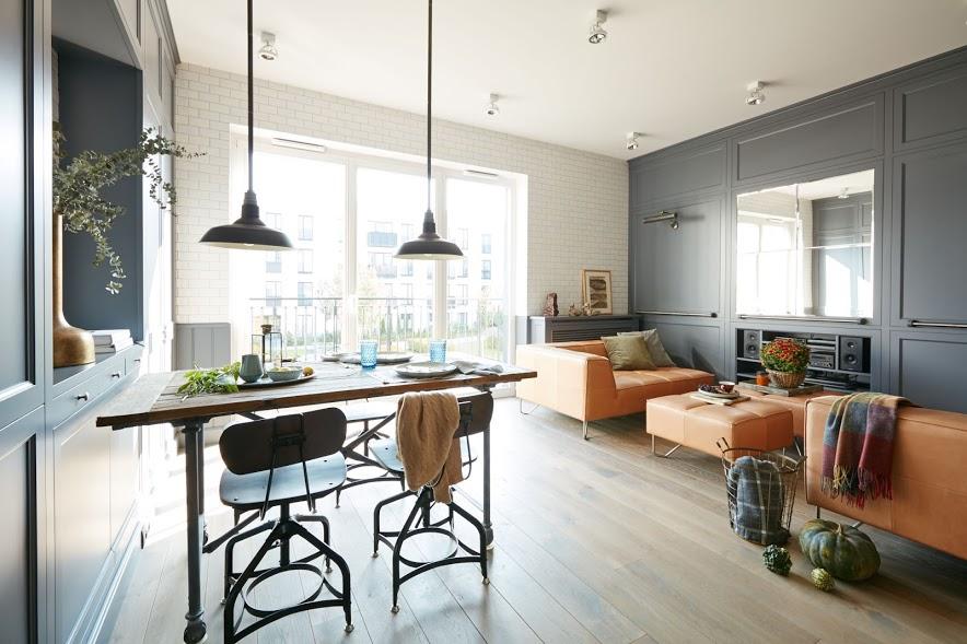 Шикарная квартира в Варшаве 67 м2