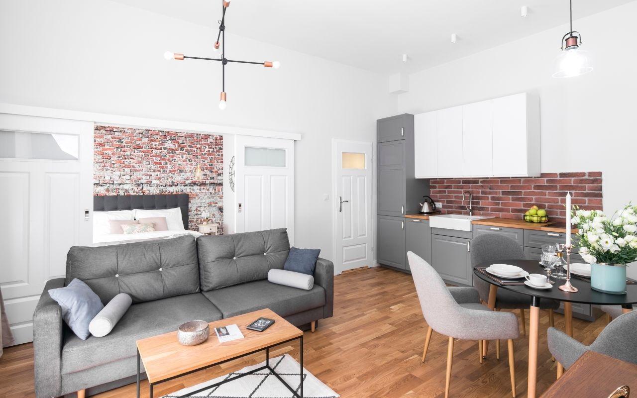 Шикарная квартира в Кракове 41 м2
