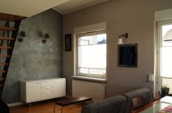 2-х уровневая квартира в Познани 45 м2