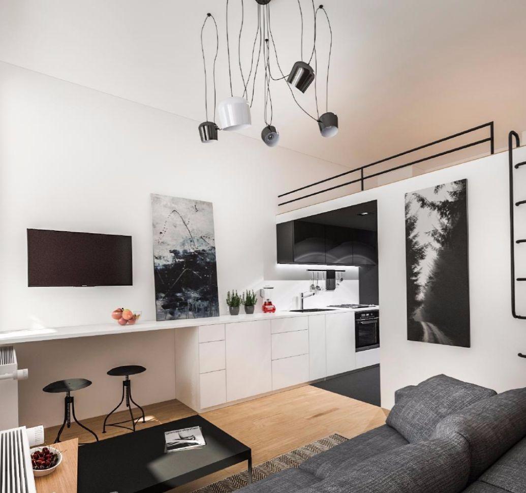 Квартира в Кракове 20,03 м2