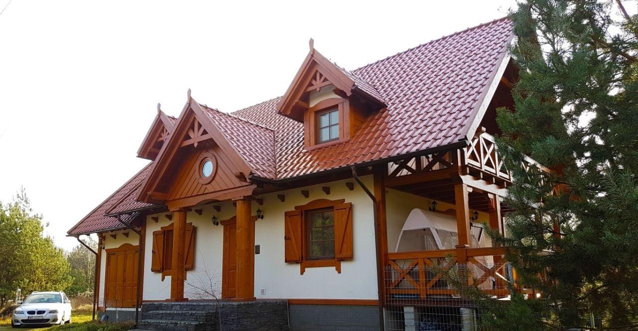 Дом недалеко от Люблина 220 м2