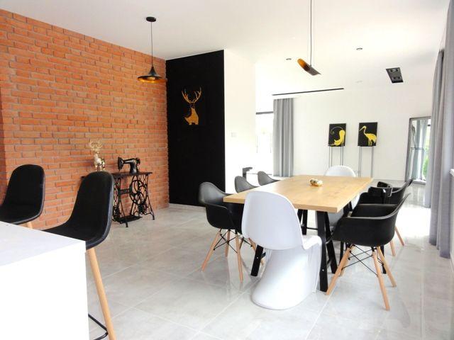 Современный дом в Лодзи 228 м2
