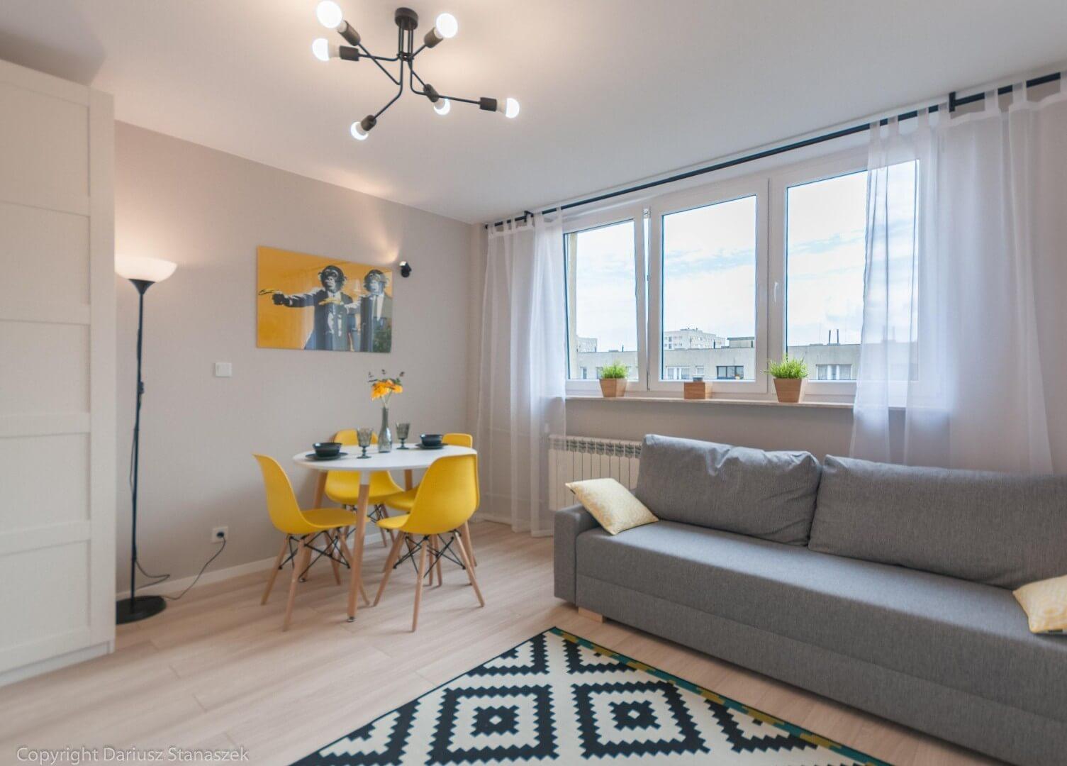 3-комнатная квартира 54 м2, Варшава