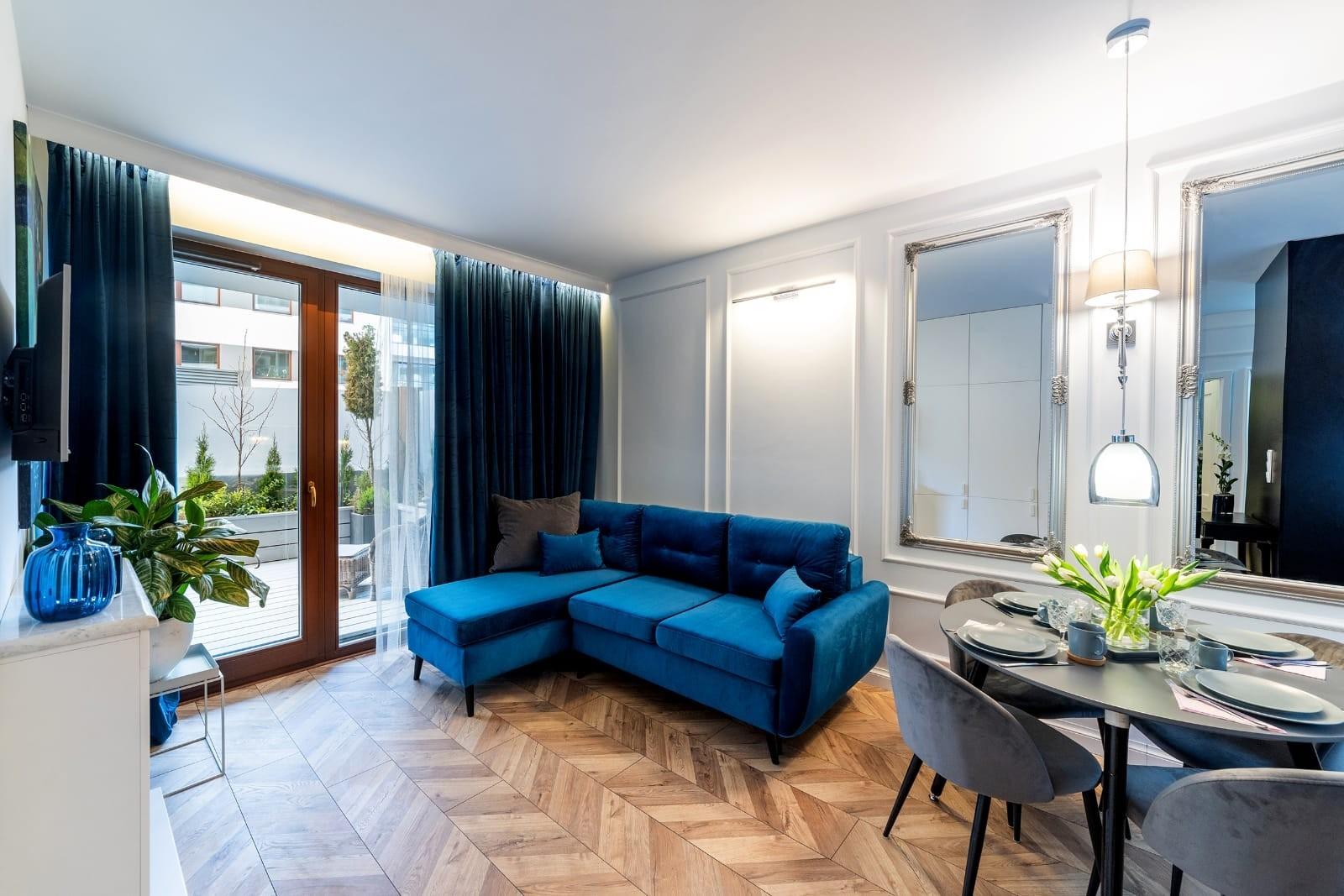 2-комнатная квартира 36 м2, Варшава
