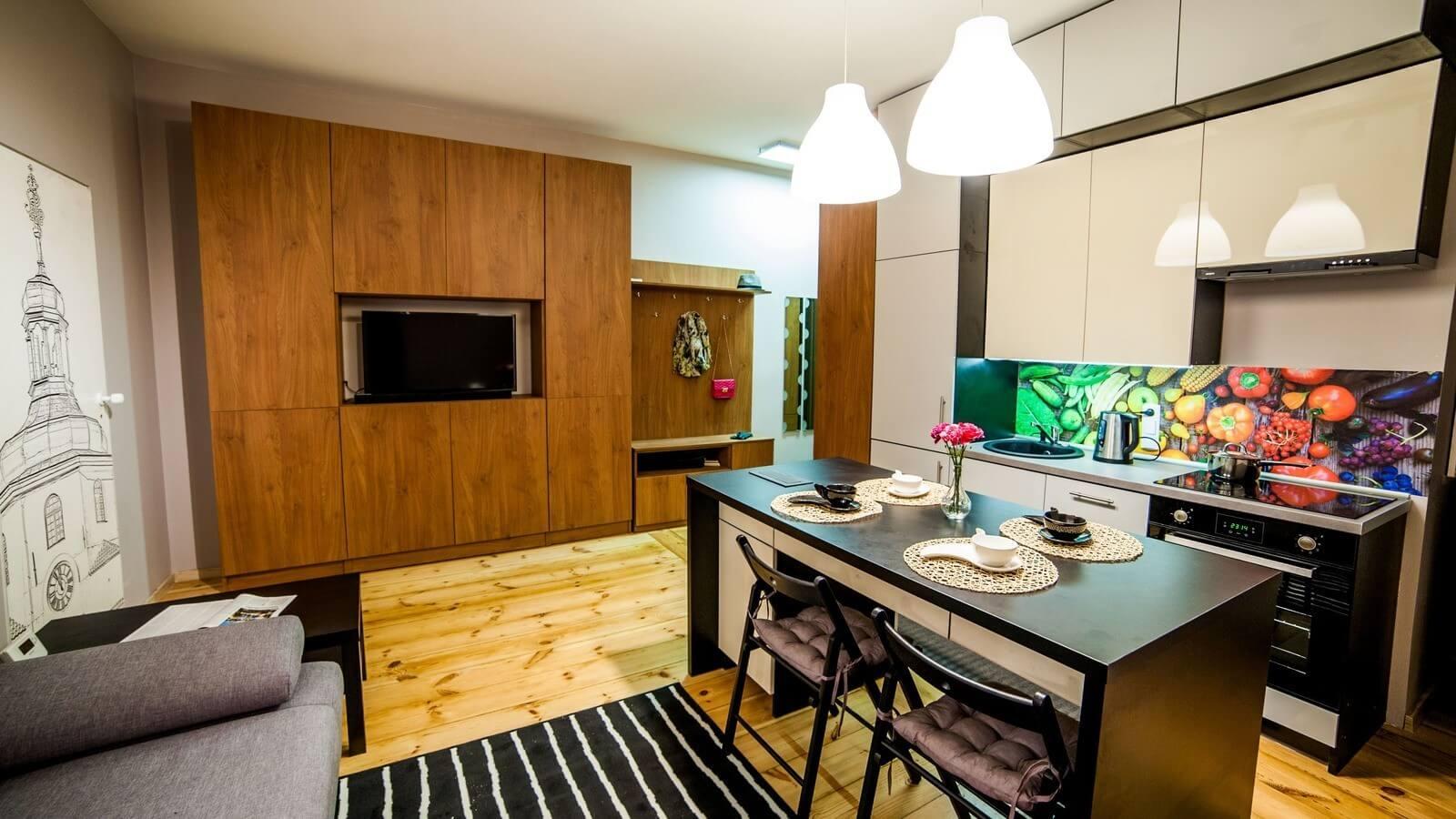 1-комнатная квартира 40 м2, Люблин