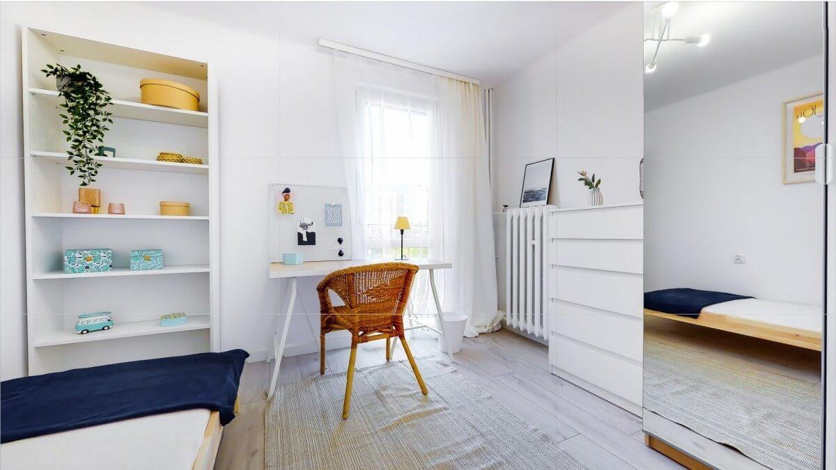3-комнатная квартира 44 м2, Краков