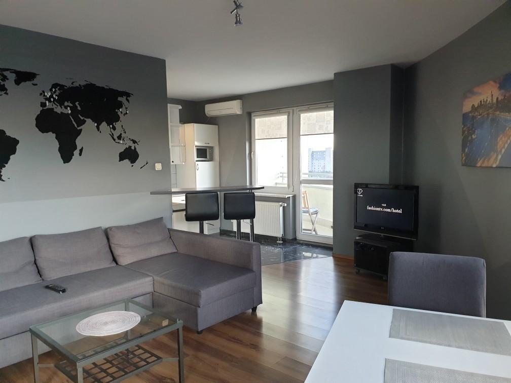 1-комнатная квартира 39 м2, Варшава