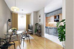 1-комнатная квартира 29,50 м2, Вроцлав