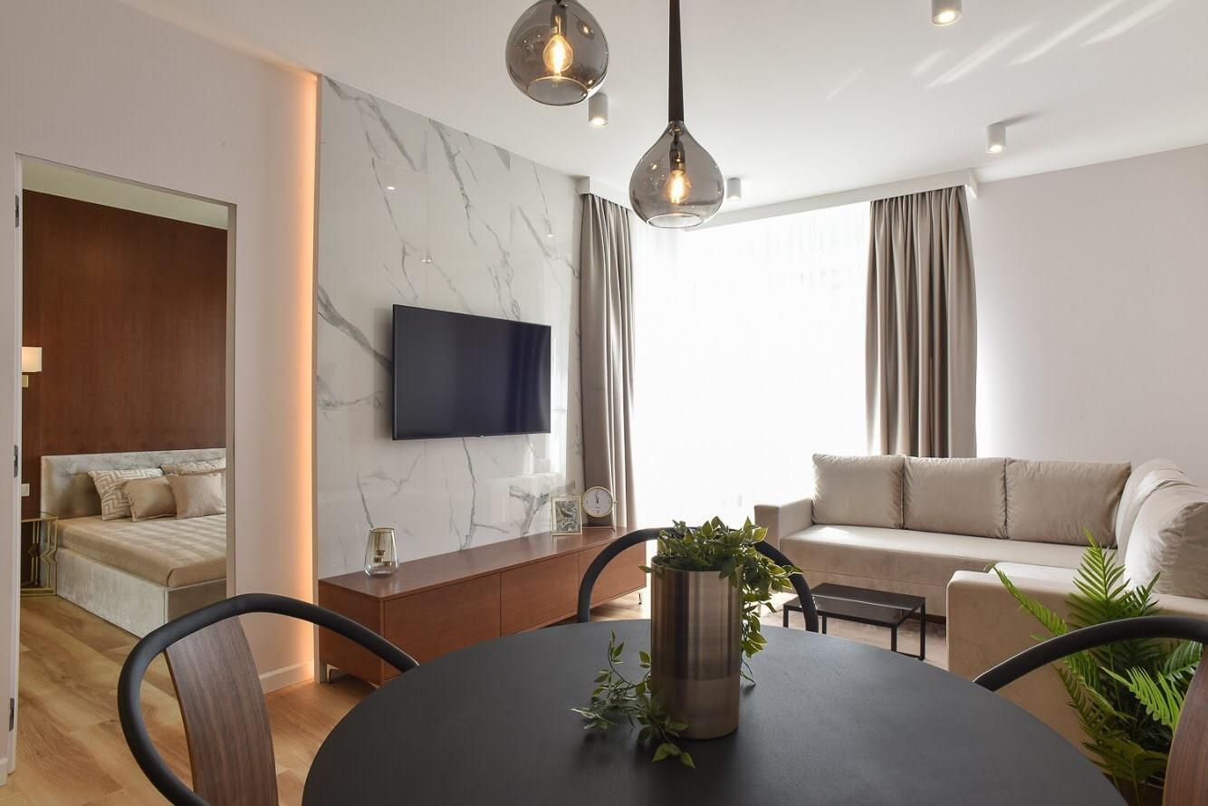 2-комнатная квартира 45 м2, Варшава