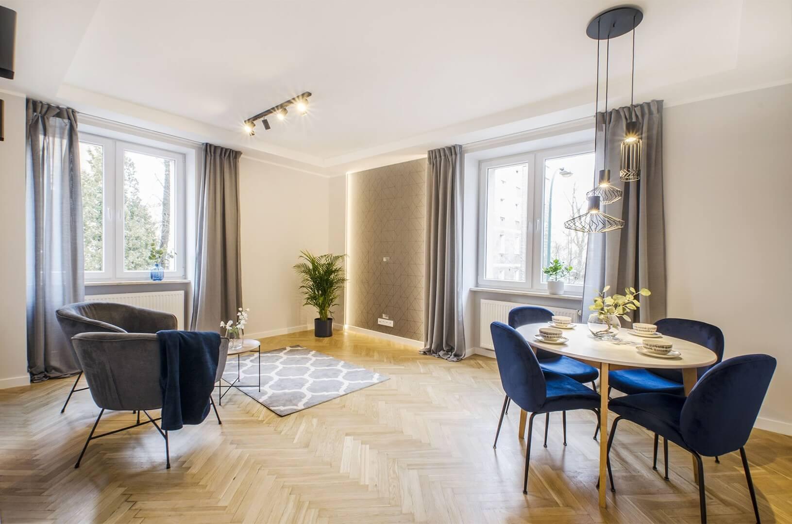 2-комнатная квартира 50 м2, Варшава