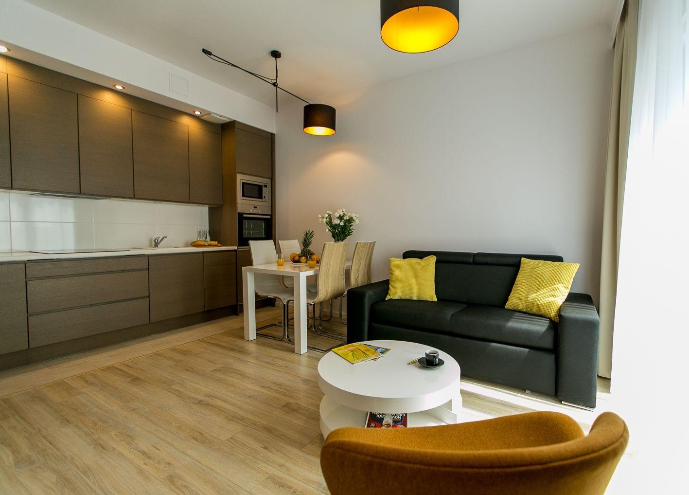 2-комнатный апартамент 34 м2, Варшава