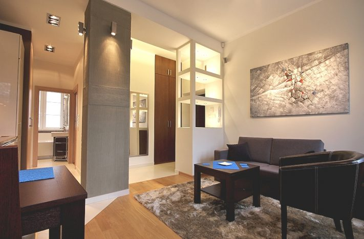 2-комнатная квартира 41 м2, Варшава