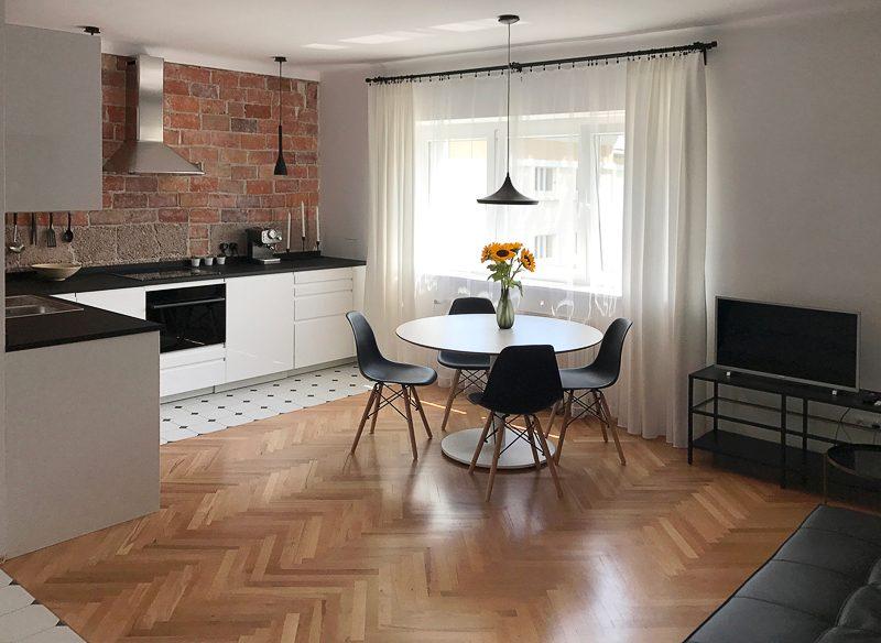 3-комнатная квартира 48 м2, Варшава
