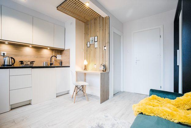 1-комнатная квартира 20 м2, Варшава