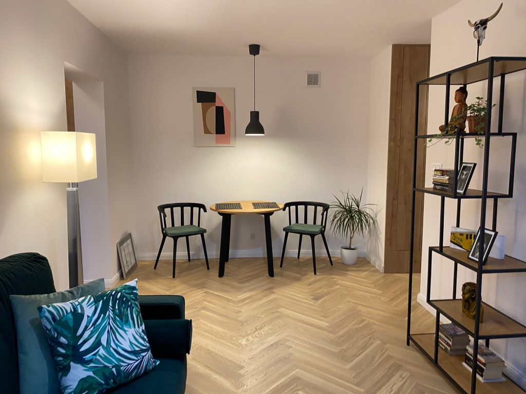 2-комнатная квартира 38 м2, Варшава