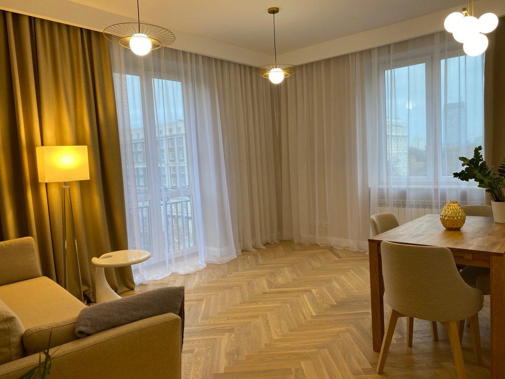 3-комнатная квартира 60 м2, Варшава