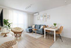 3-комнатная квартира 56 м2, Варшава