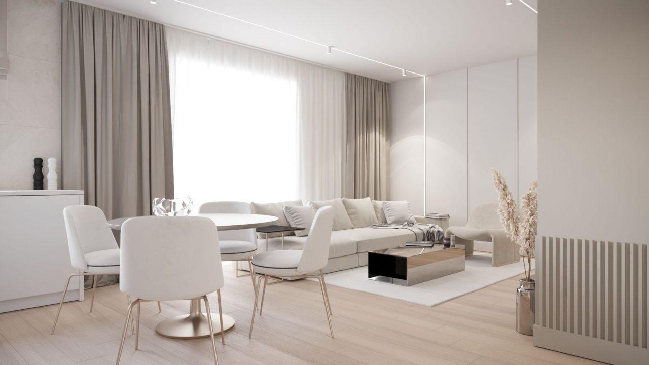 3-комнатаня квартира 64 м2, Варшава